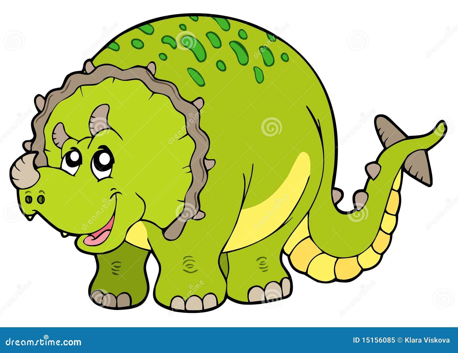 Triceratops de la historieta