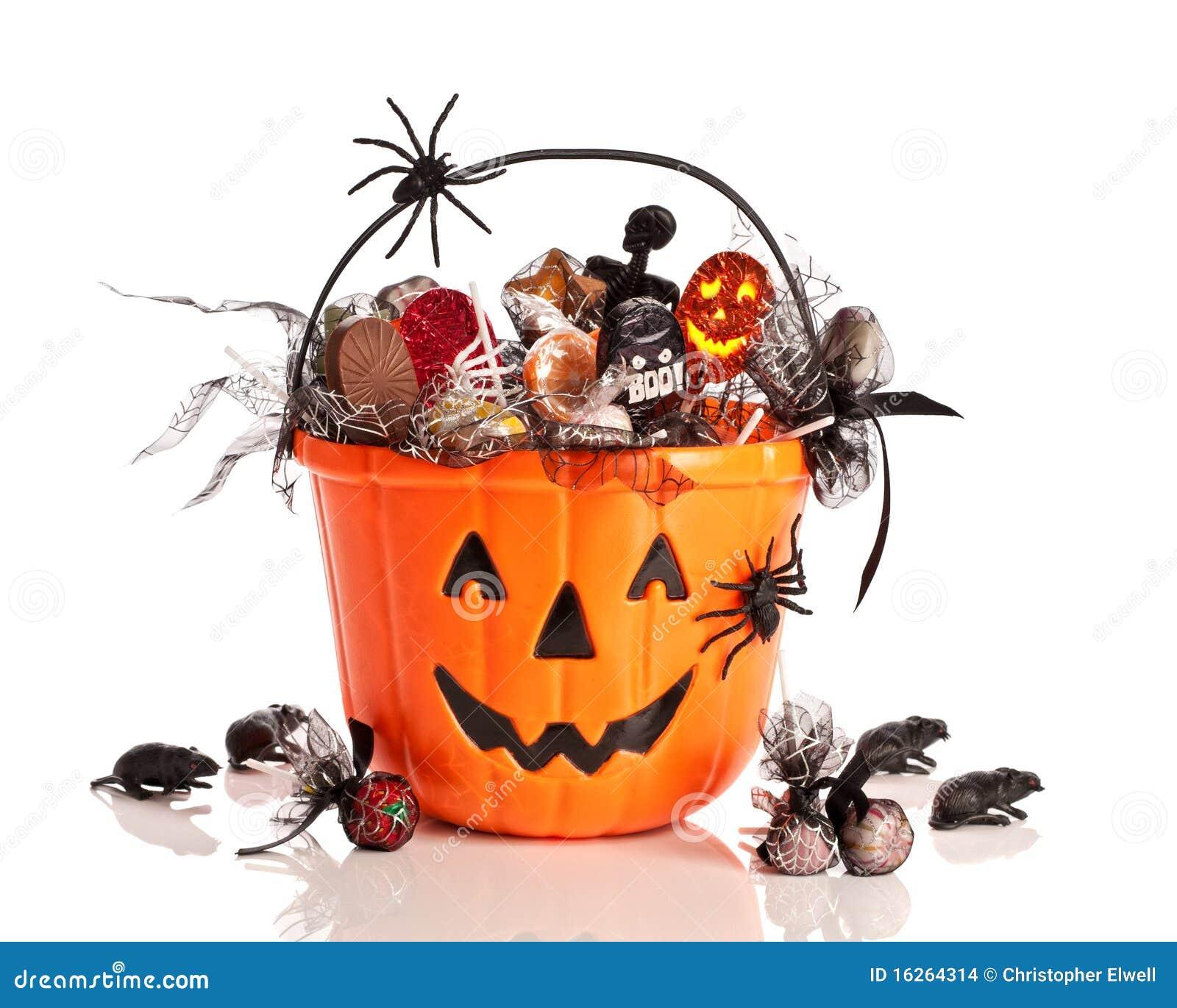 Trick Or Treat Halloween Bucket