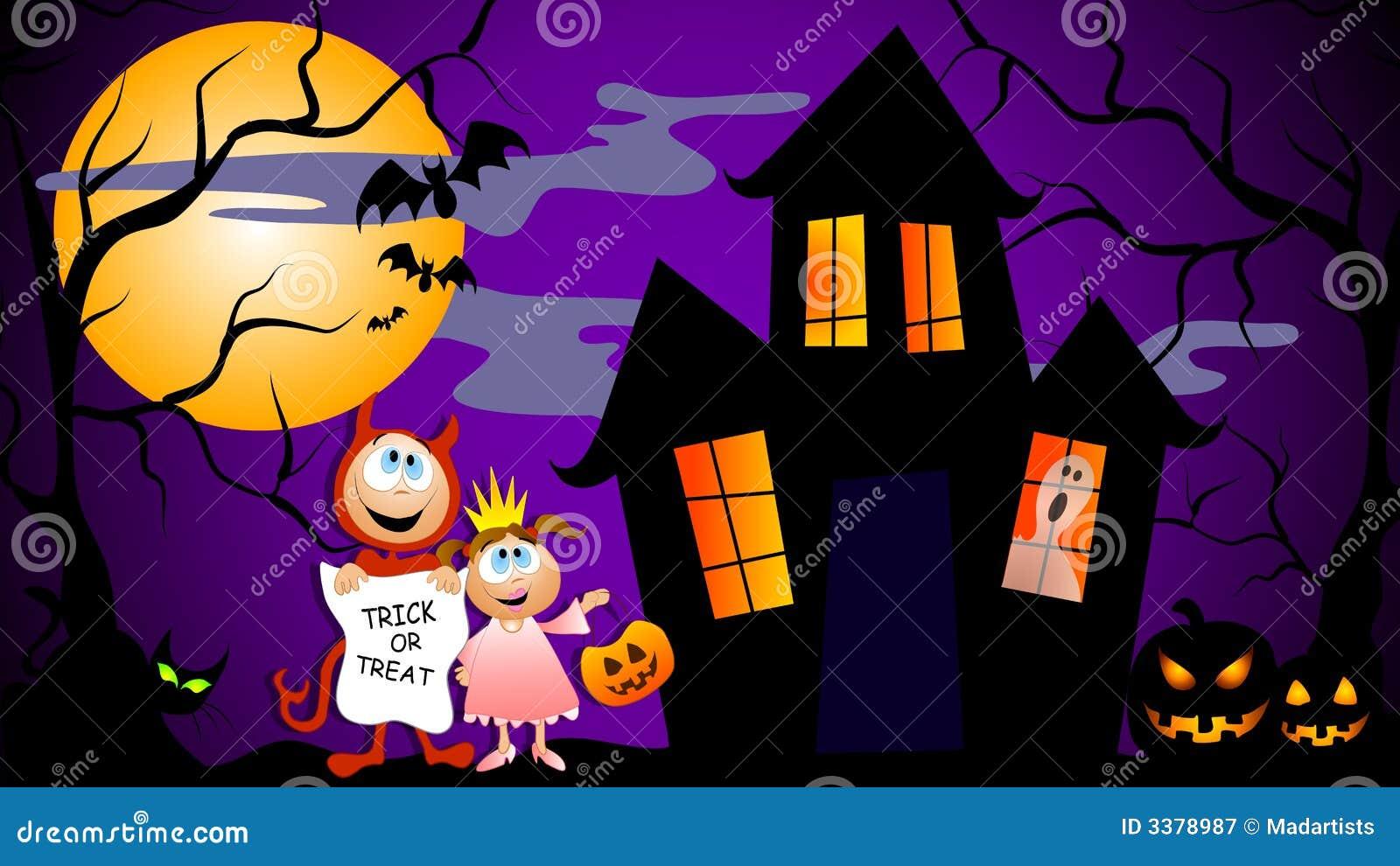 halloween scene clipart - photo #33