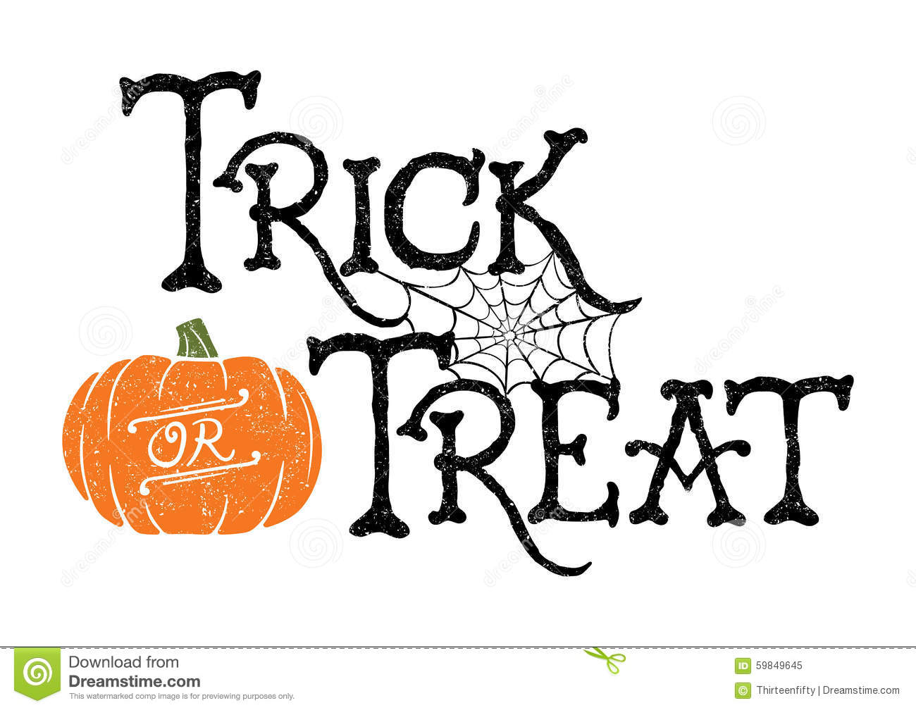 trick or treat pumpkin stock vector illustration of trick or treat clip art images trick or treat clip art halloween