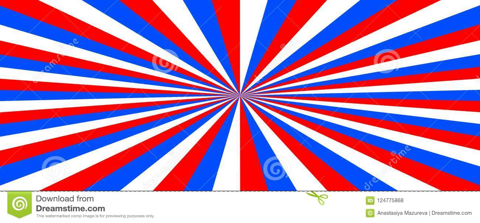Tricolor Αφηρημένο υπόβαθρο με το χρώμα της σημαίας της Ρωσίας