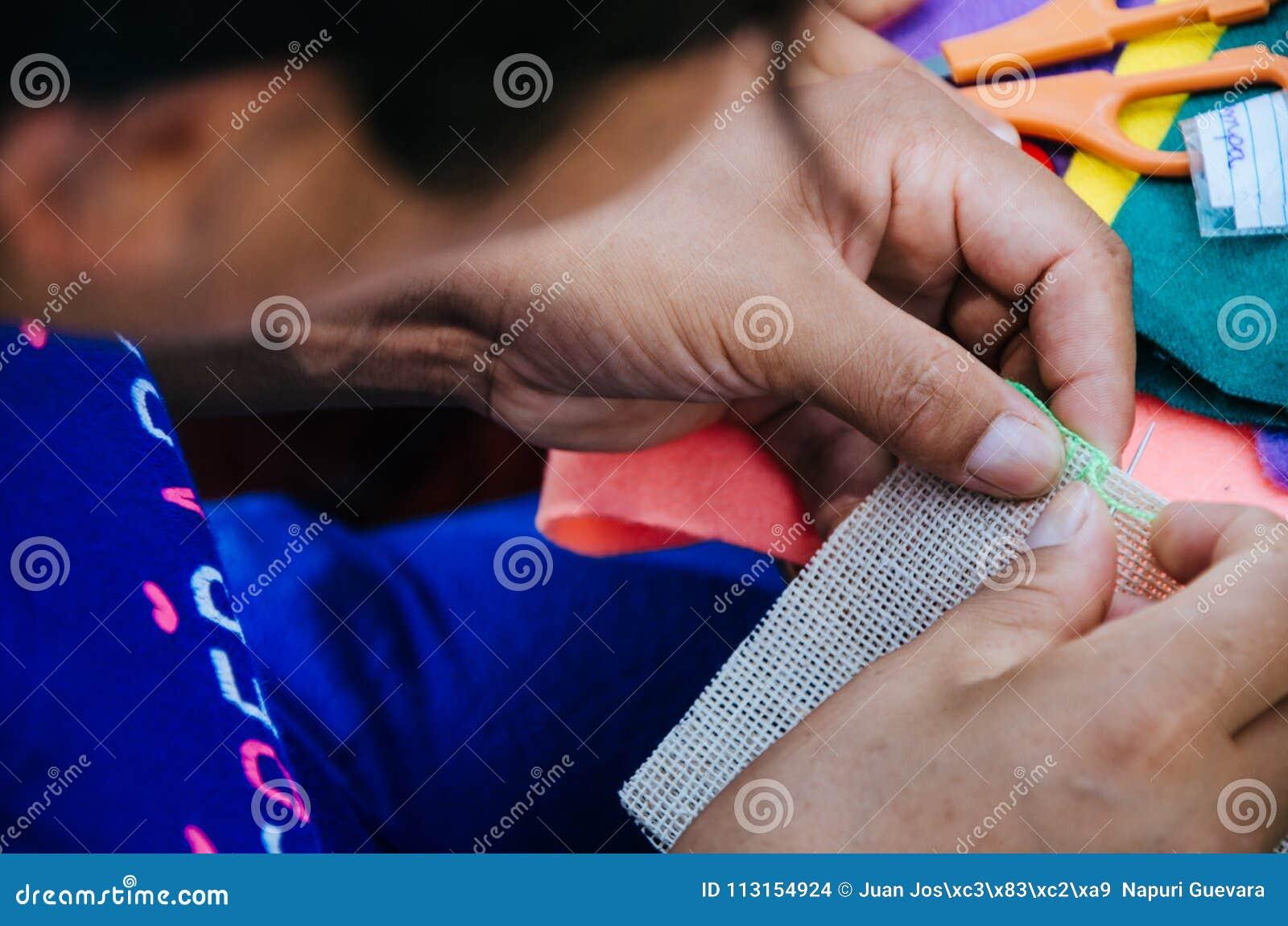 Tricotage de femme
