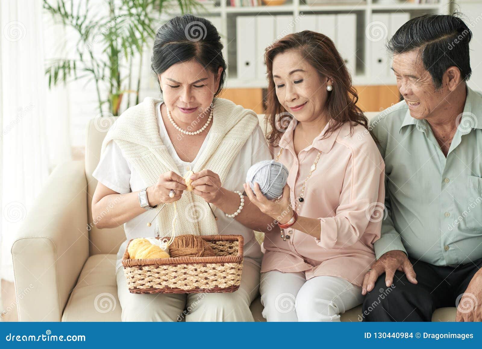 Tricotage pour des amis