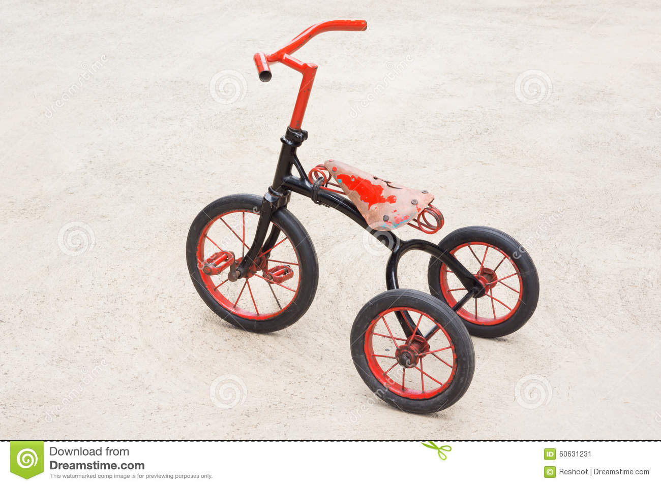 Tricycle Stock Image Image Of Vintage Cycle Wheel 60631231