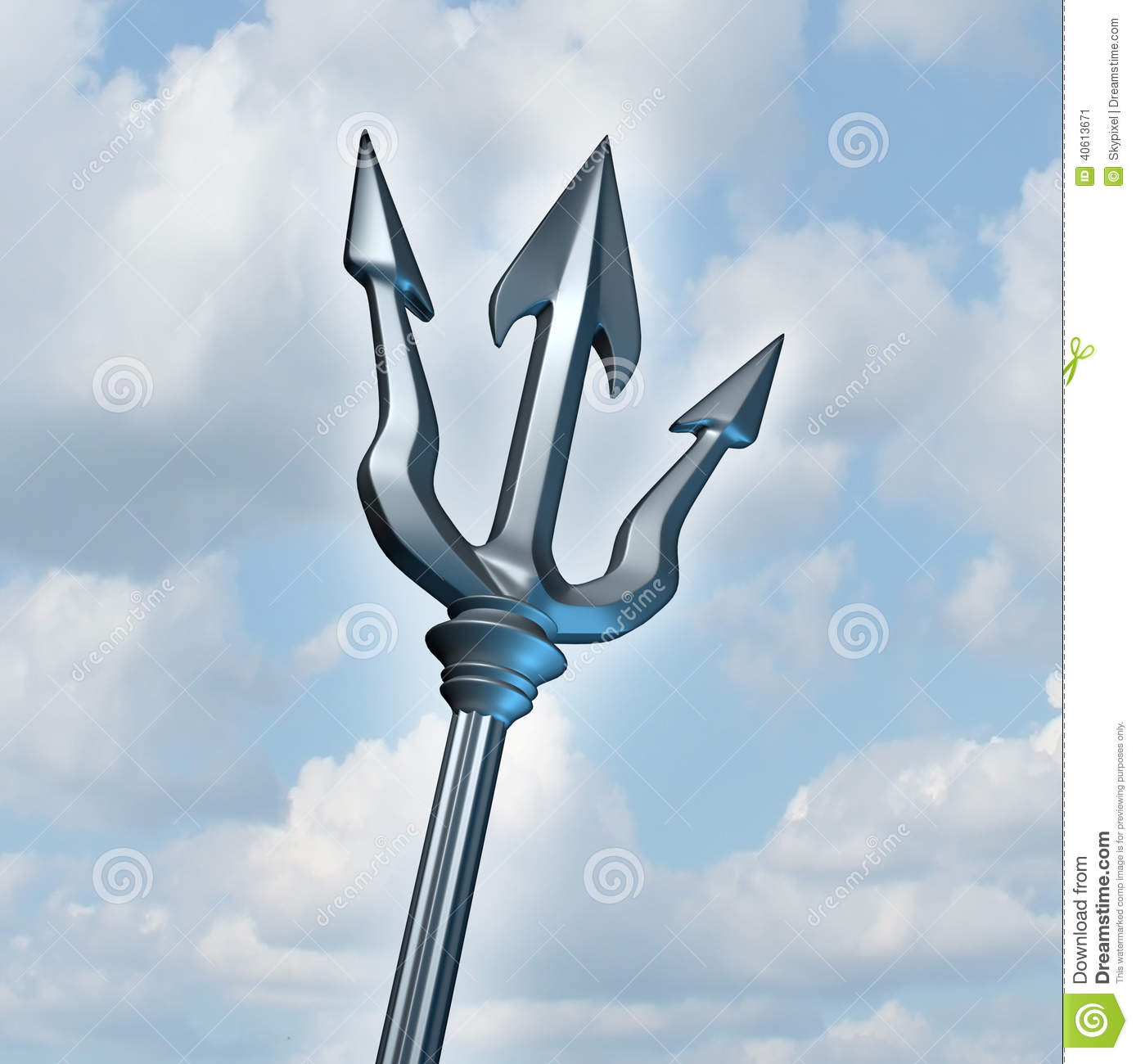 ... as a three dimensional weapon to catch fish or fight as a gladiator