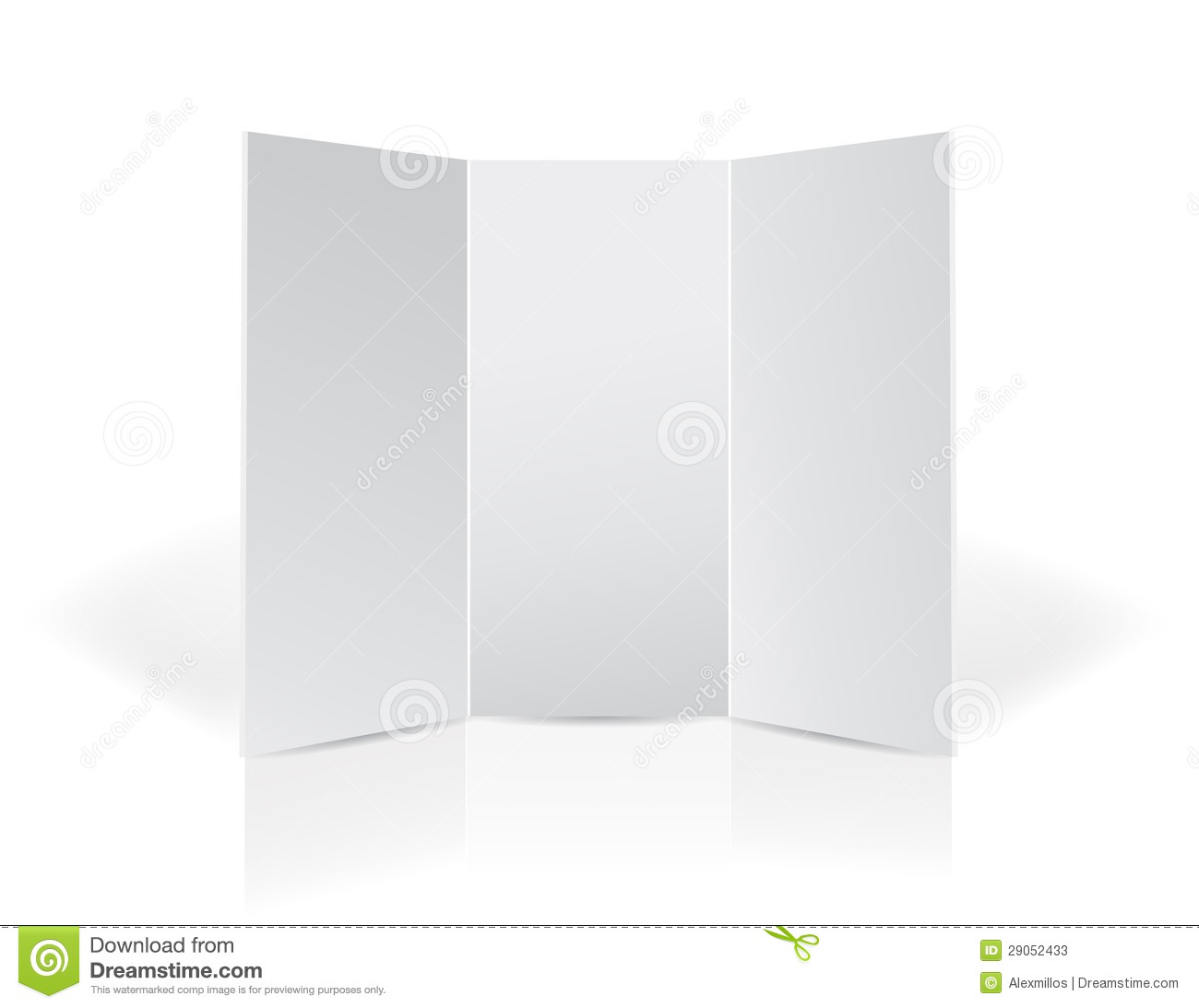 trifold black leaflet presentation board stock photos
