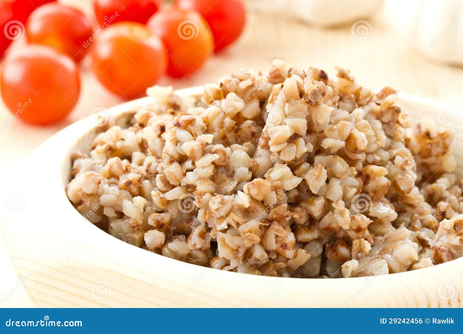 Download Trigo mourisco foto de stock. Imagem de dishware, gourmet - 29242456