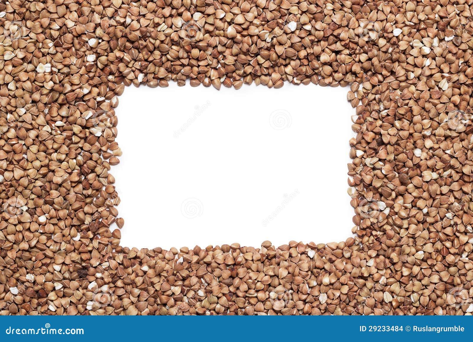 Download Trigo Mourisco Com Espaço Da Cópia No Meio Foto de Stock - Imagem de cereal, textura: 29233484