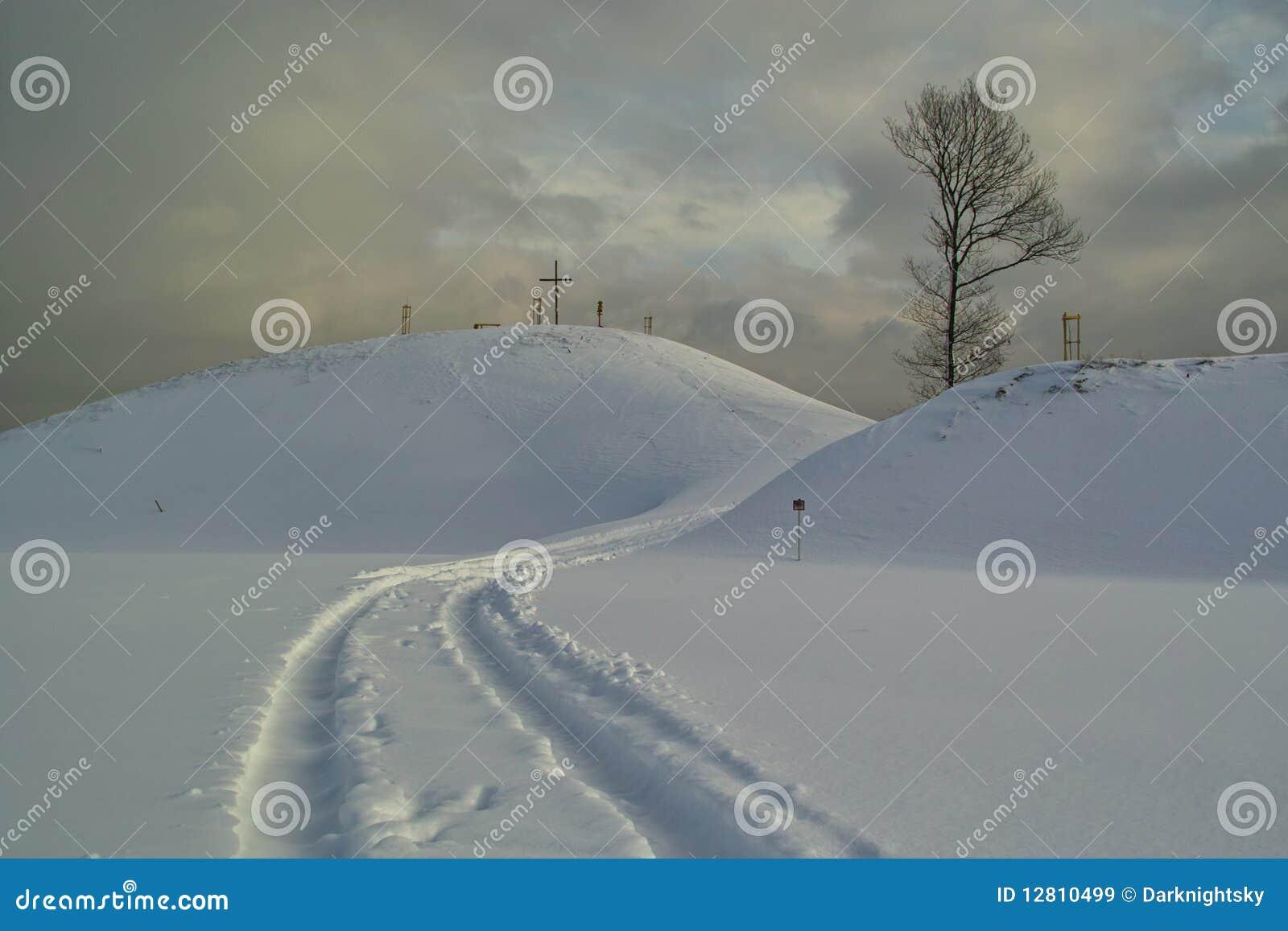 Trilha da neve