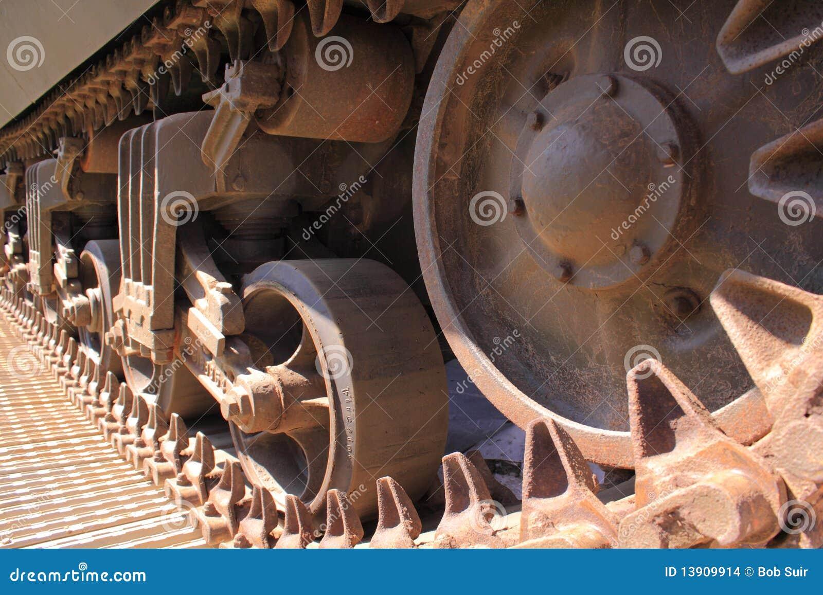 Trilhas do tanque