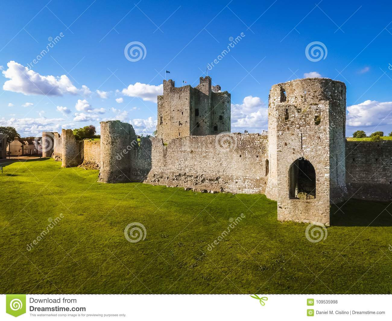 Trim Castle. county Meath. Ireland