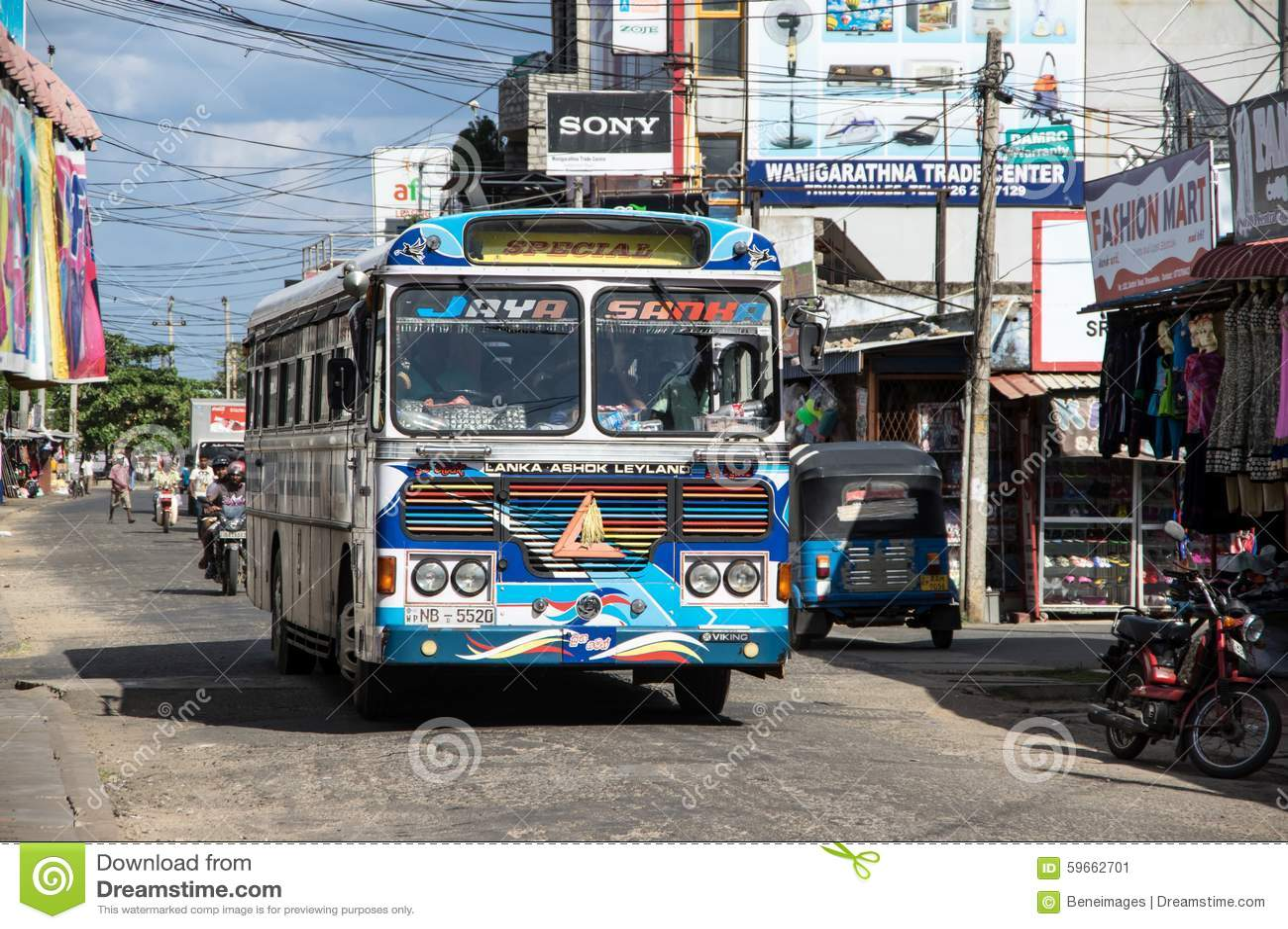 Transport in Sri Lanka. Public transport in Sri Lanka - species development