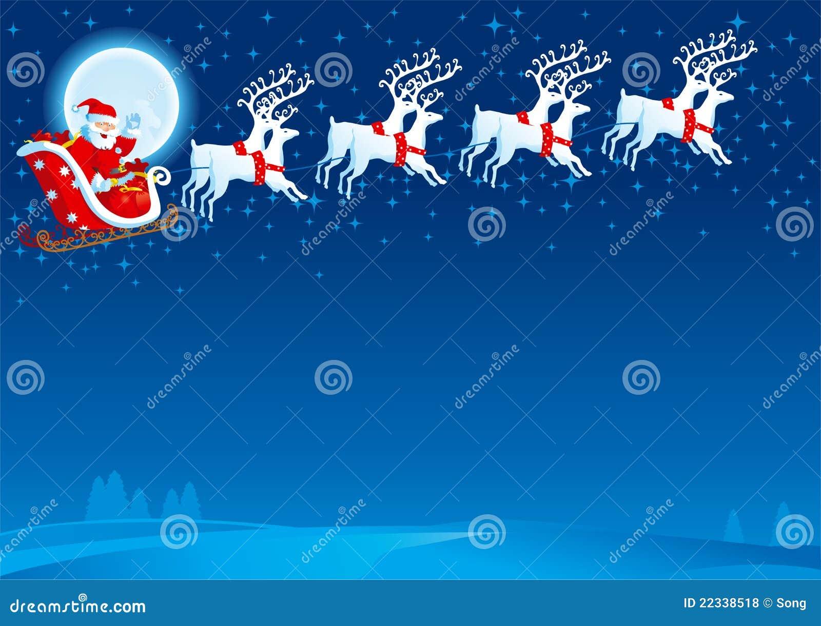 Trineo con Papá Noel