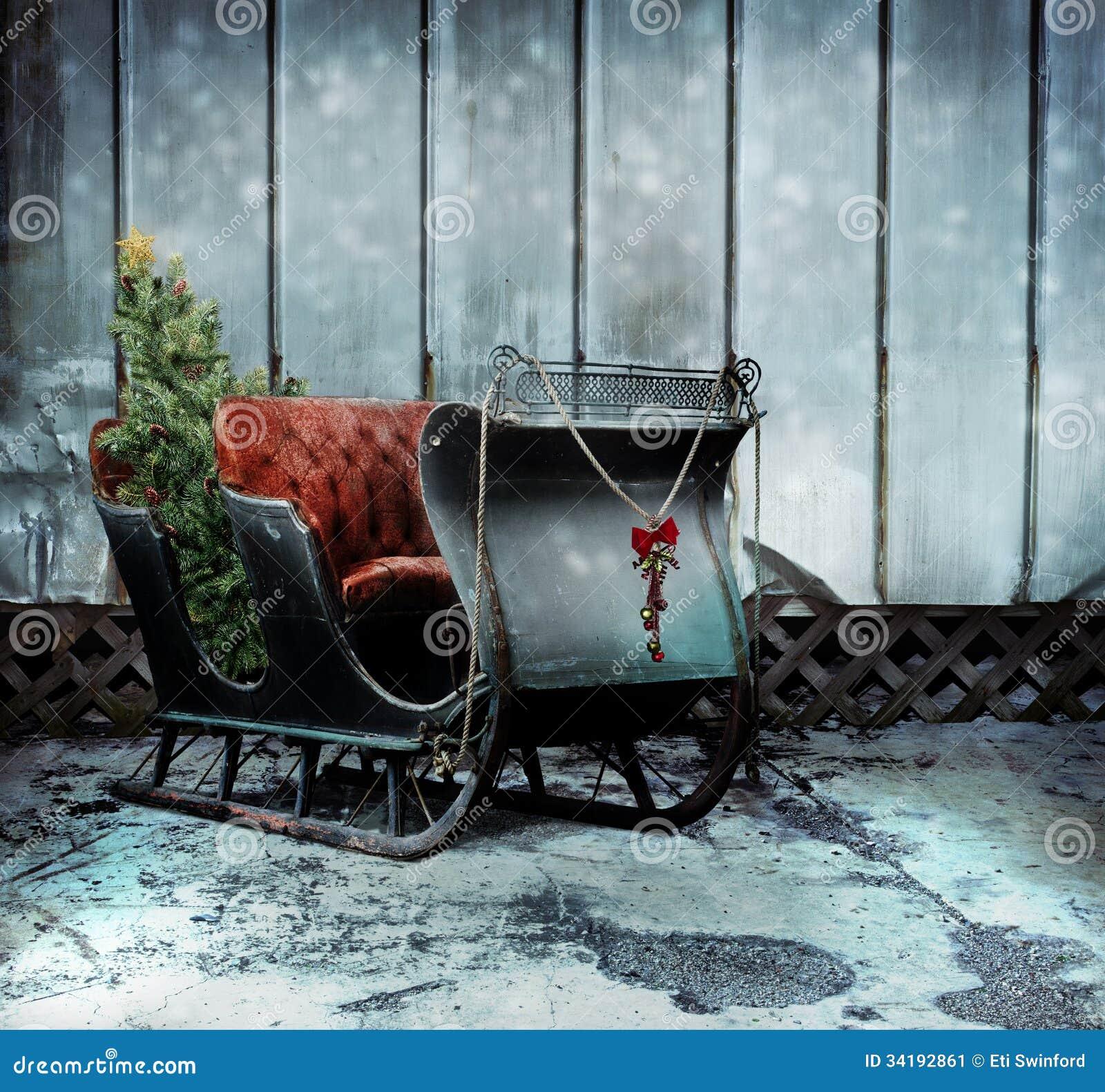 Trineo de la Navidad