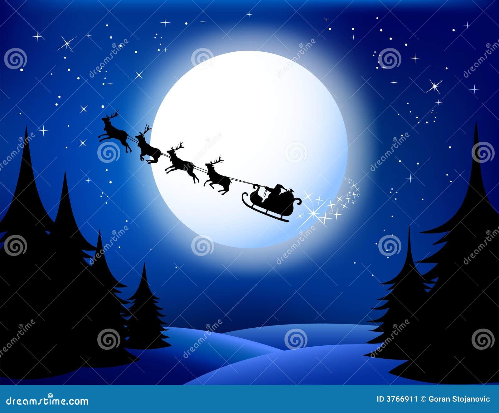 Trineo del `s de Santa