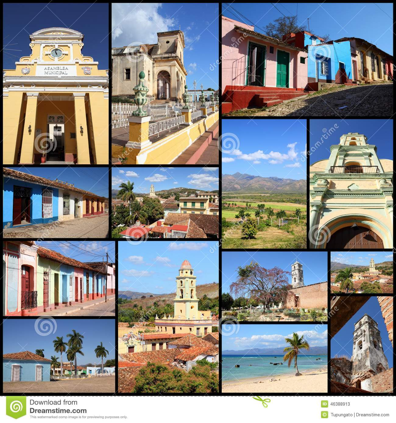 https://thumbs.dreamstime.com/z/trinidad-cuba-photos-collage-travel-memories-photo-collection-images-colonial-architecture-churches-ancon-beach-46388913.jpg