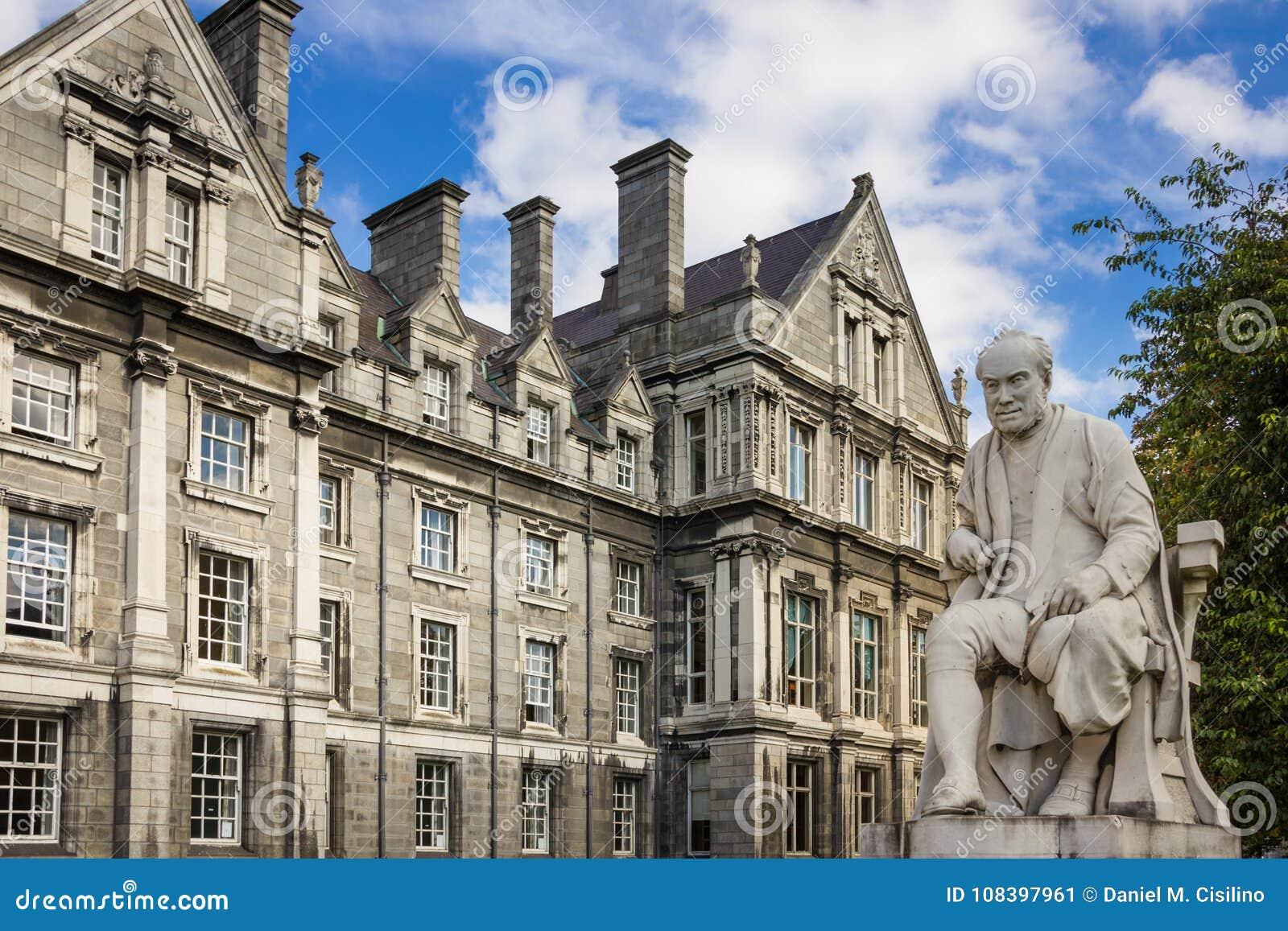 Trinity College. Graduates Memorial Building . Dublin. Ireland