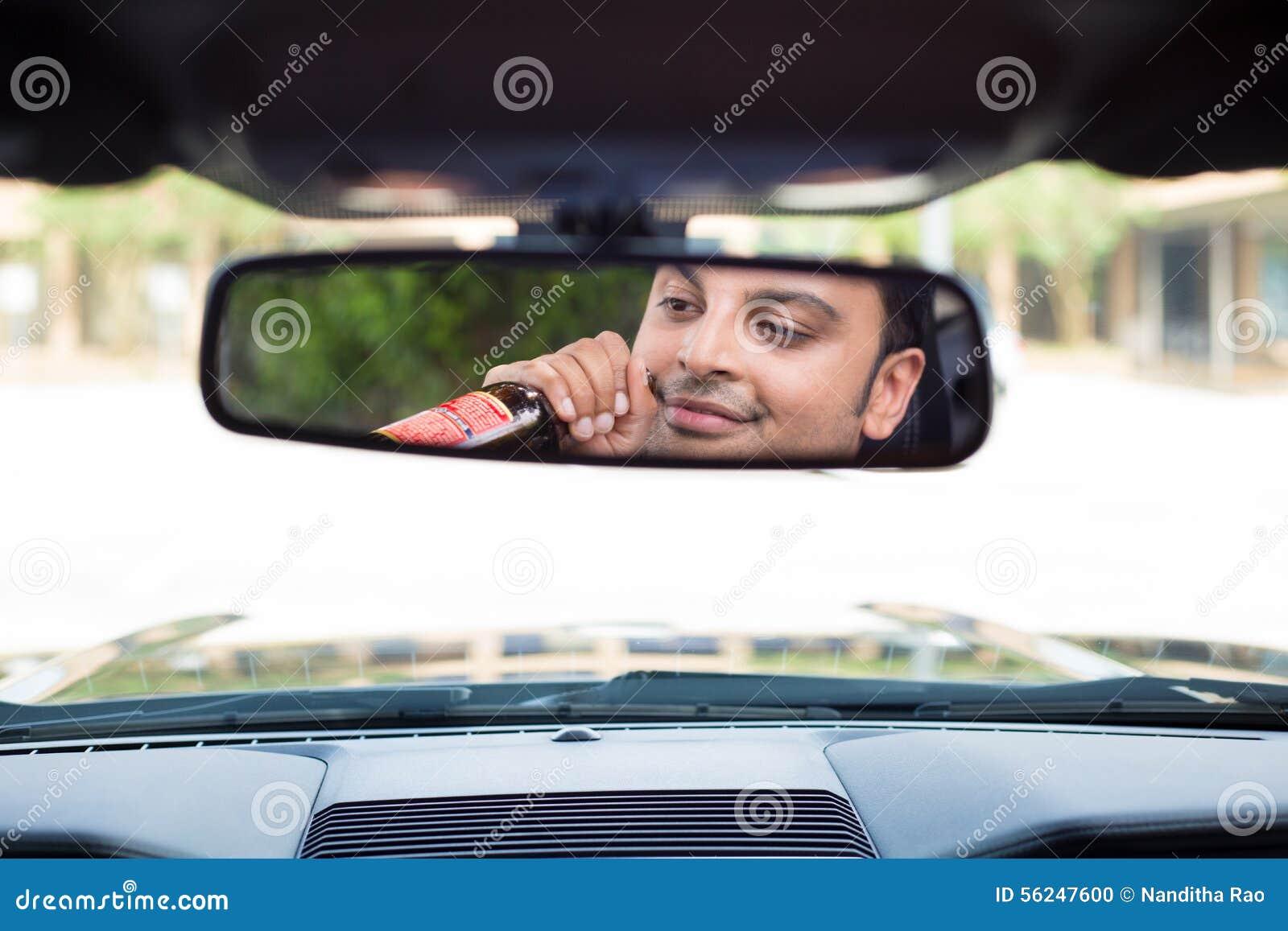 Trinken, Fahren, reflektierend