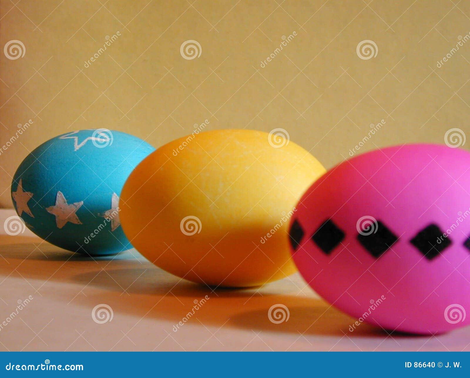 Trio dell uovo di Pasqua