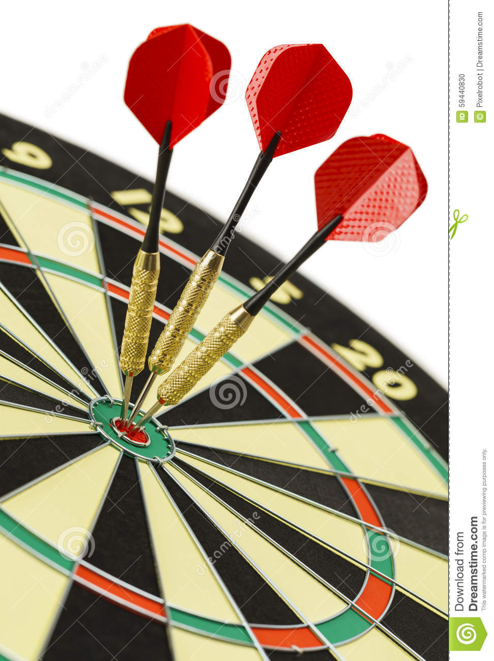 dart board triple