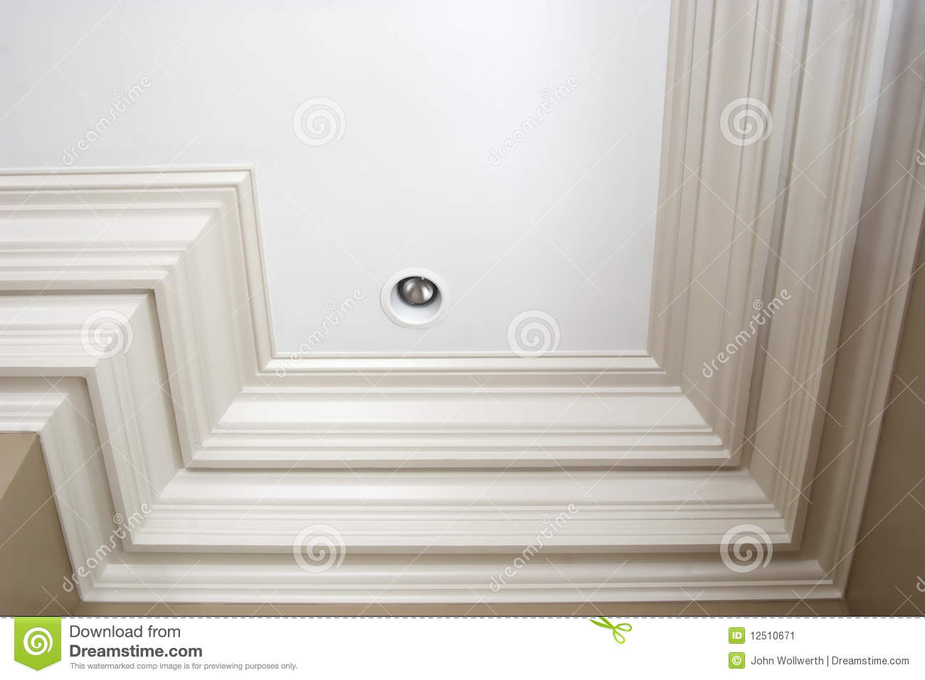 Triple Crown Molding Stock Image Image 12510671