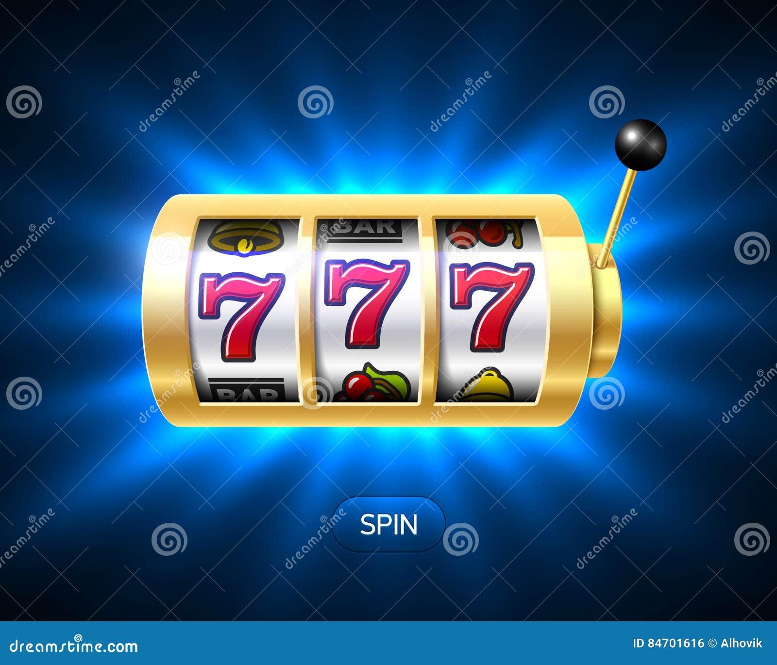 Triple sevens casino jackpot banner