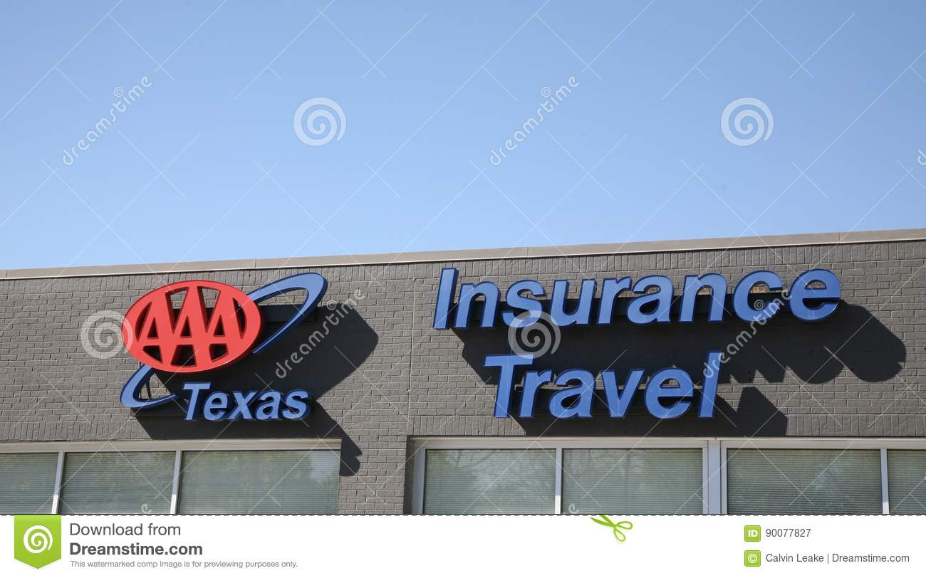 Triple A Car Insurance >> Triple A Texas Travel Insurance Editorial Photography