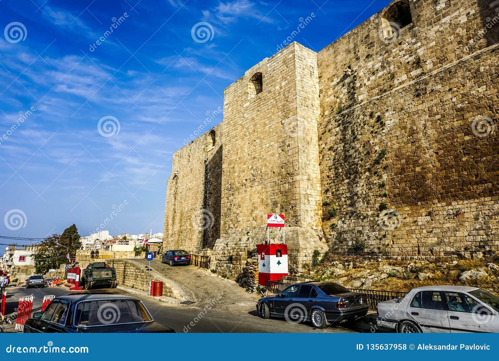 Tripoli Raymond De Saint Gilles Citadel