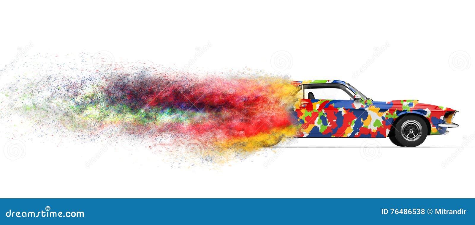 Trippy desintegrera bil