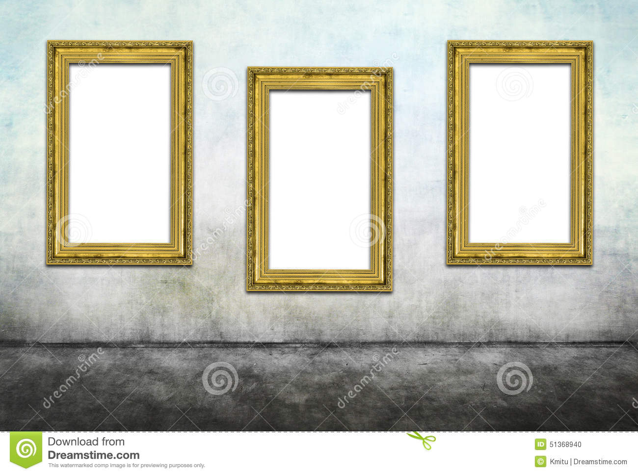 Triptych stock photo. Image of carved, hollow, frame - 51368940