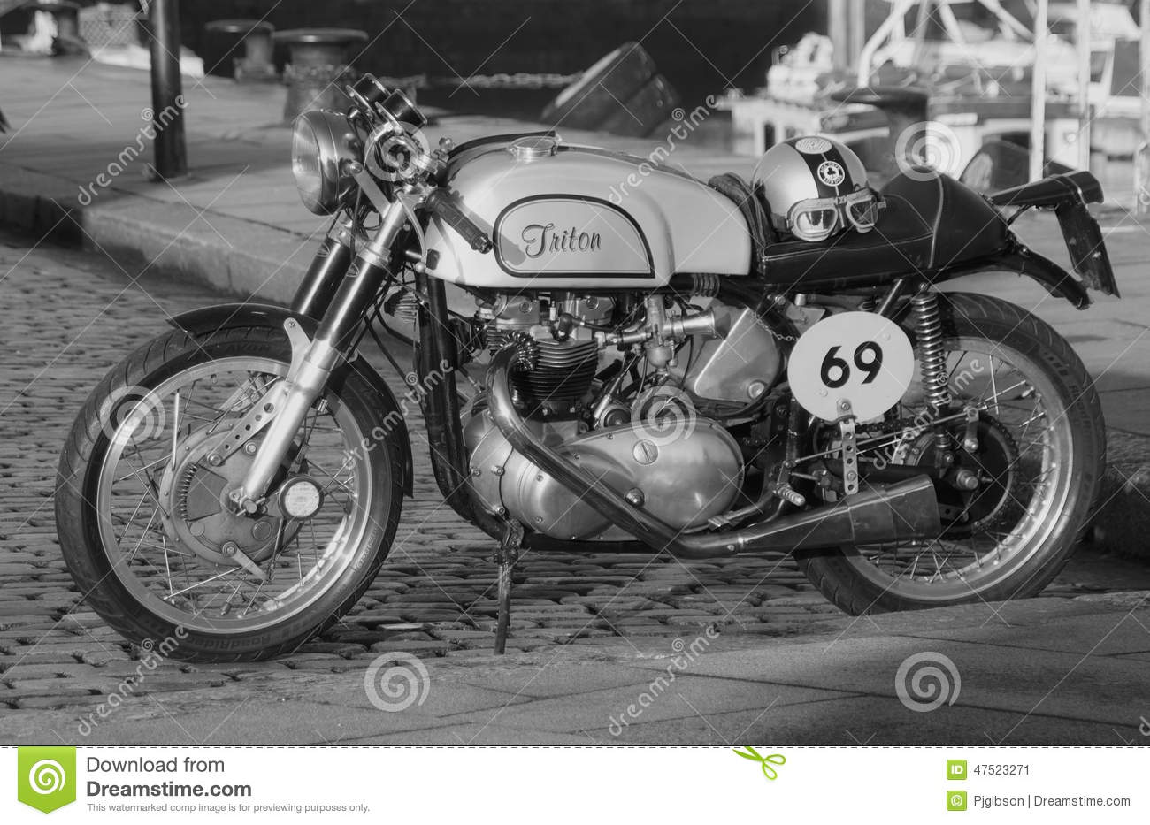 Download Triton Cafe Racer Editorial Photo Image Of