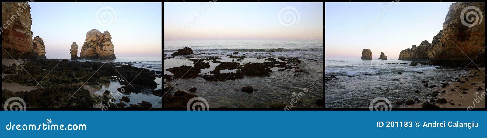 Trittico della spiaggia