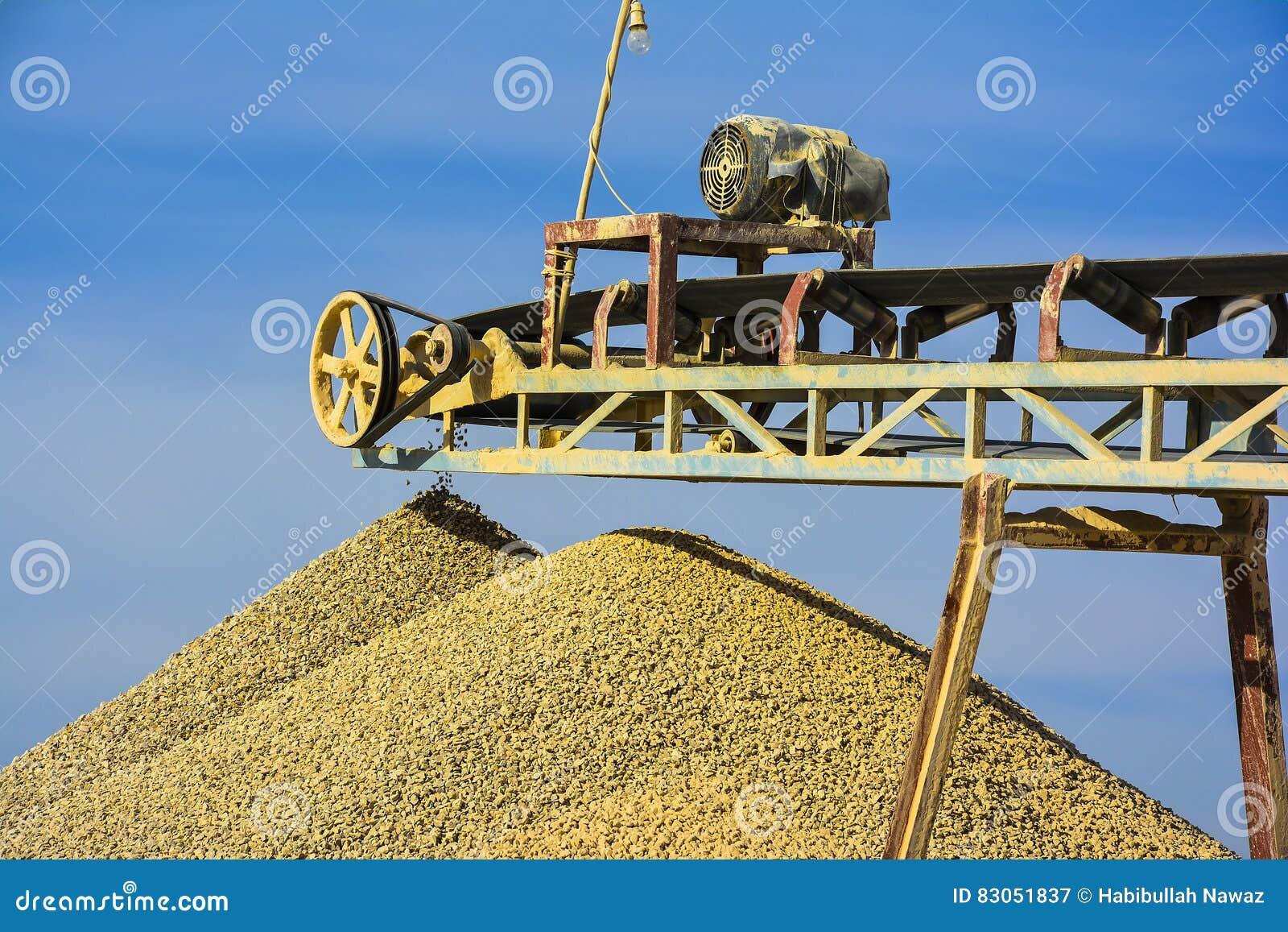 Triturador de pedra & cascalho