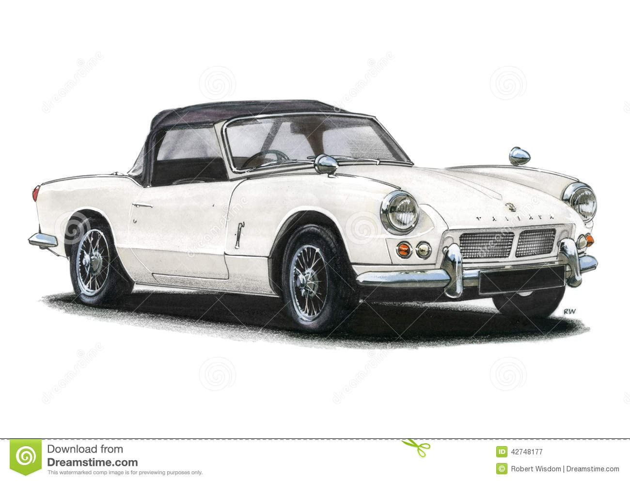 Triumph Spitfire Mk1 Editorial Photography  Illustration Of European