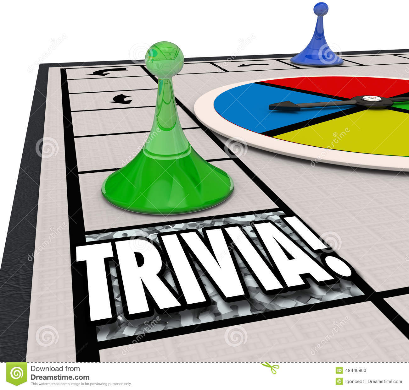 Clip Art Word Games : Trivia board game fun knowledge challenge playing quiz