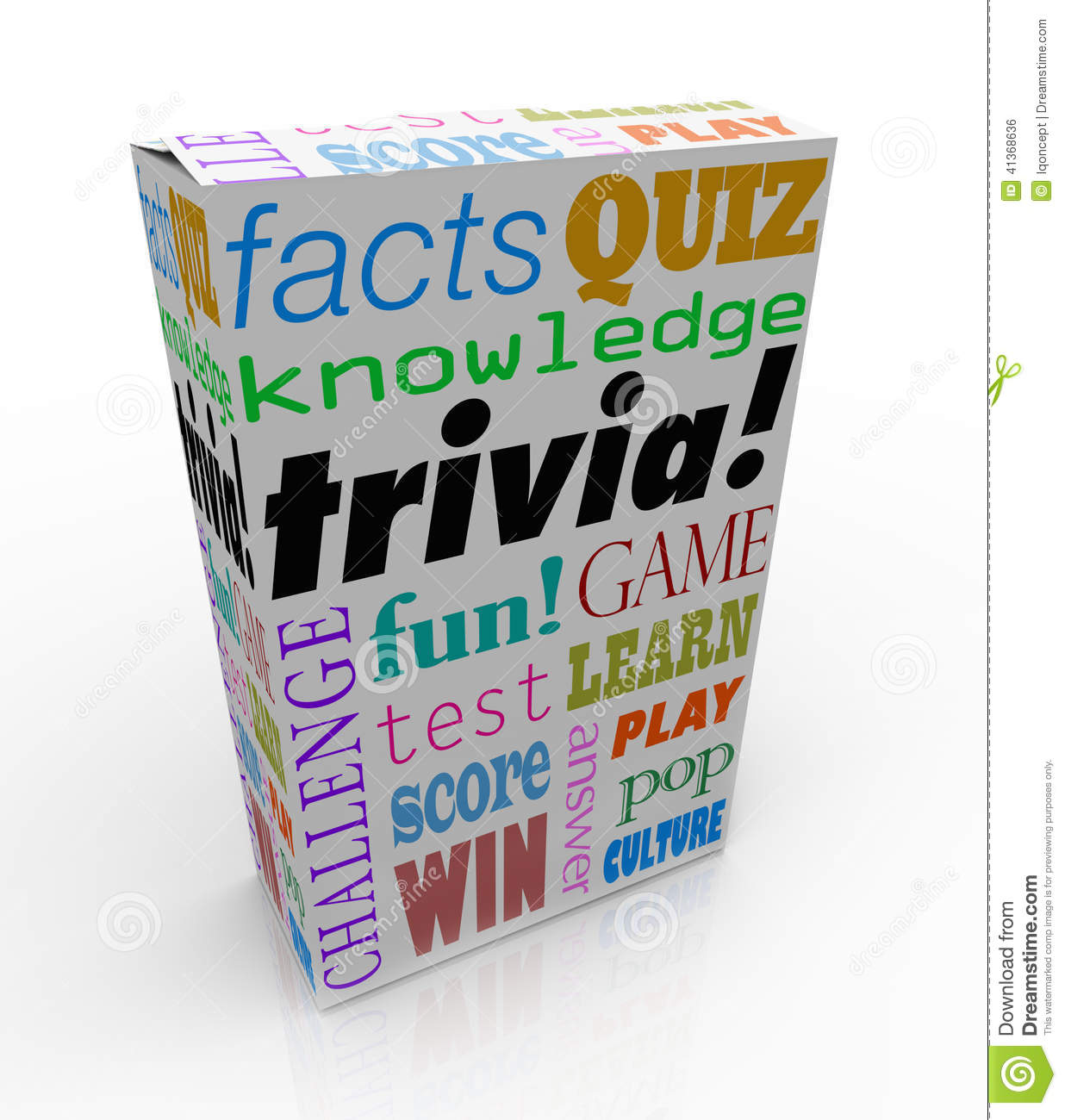Trivia Game Box Package Fun Questions Answers Knowledge ... - photo#9