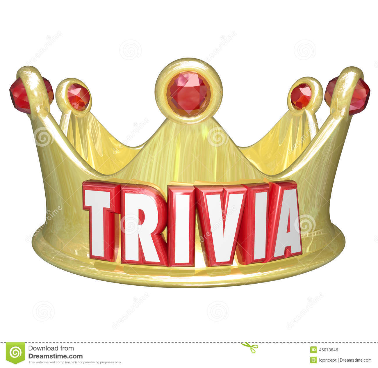 Trivia Word King Queen Crown Competition Game Winner Stock ... - photo#8