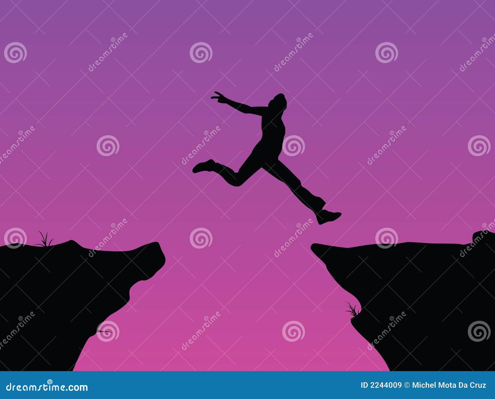 Tro hoppar vektorn