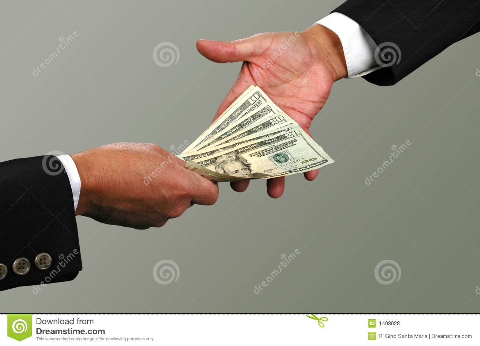 Troca de dinheiro