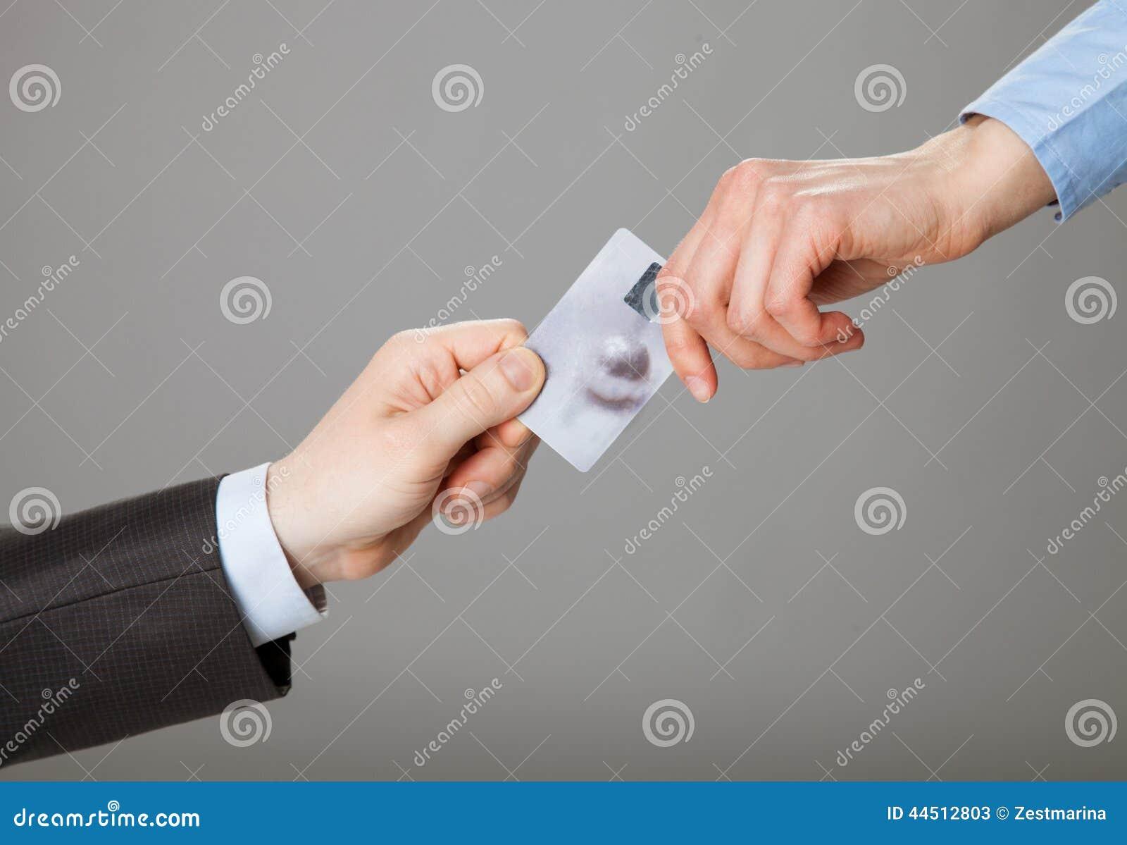 Troca do cartão de crédito