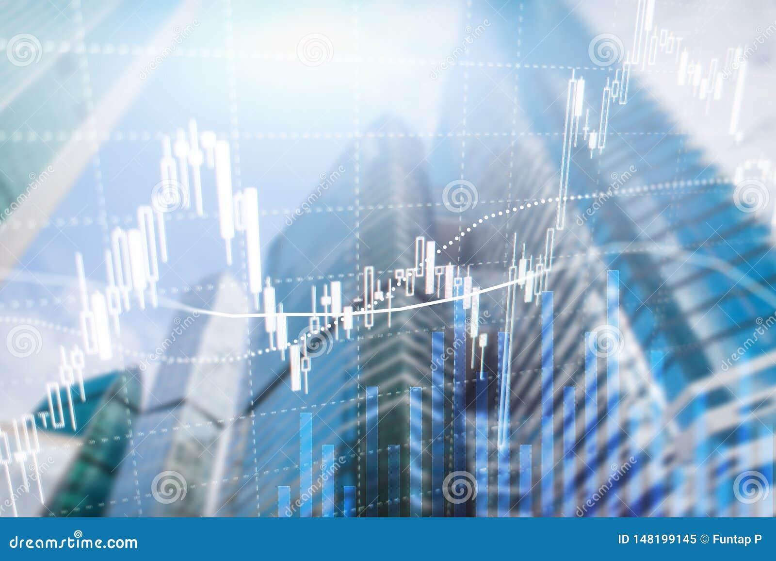 Troca dos estrangeiros, mercado financeiro, conceito do investimento no fundo do centro de neg?cios
