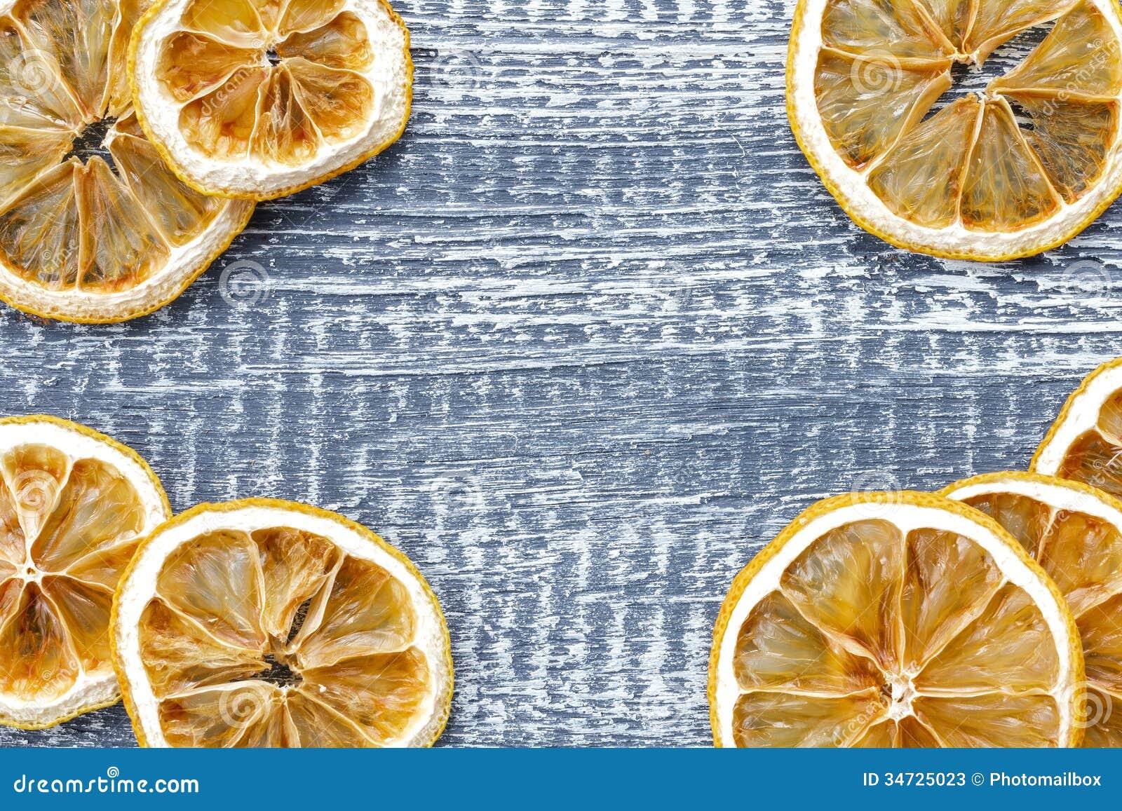 Trockene Zitrone