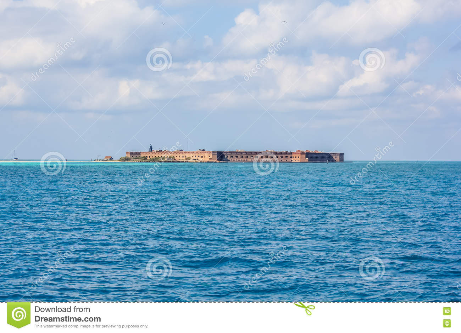 Trockener Tortugas Nationalpark