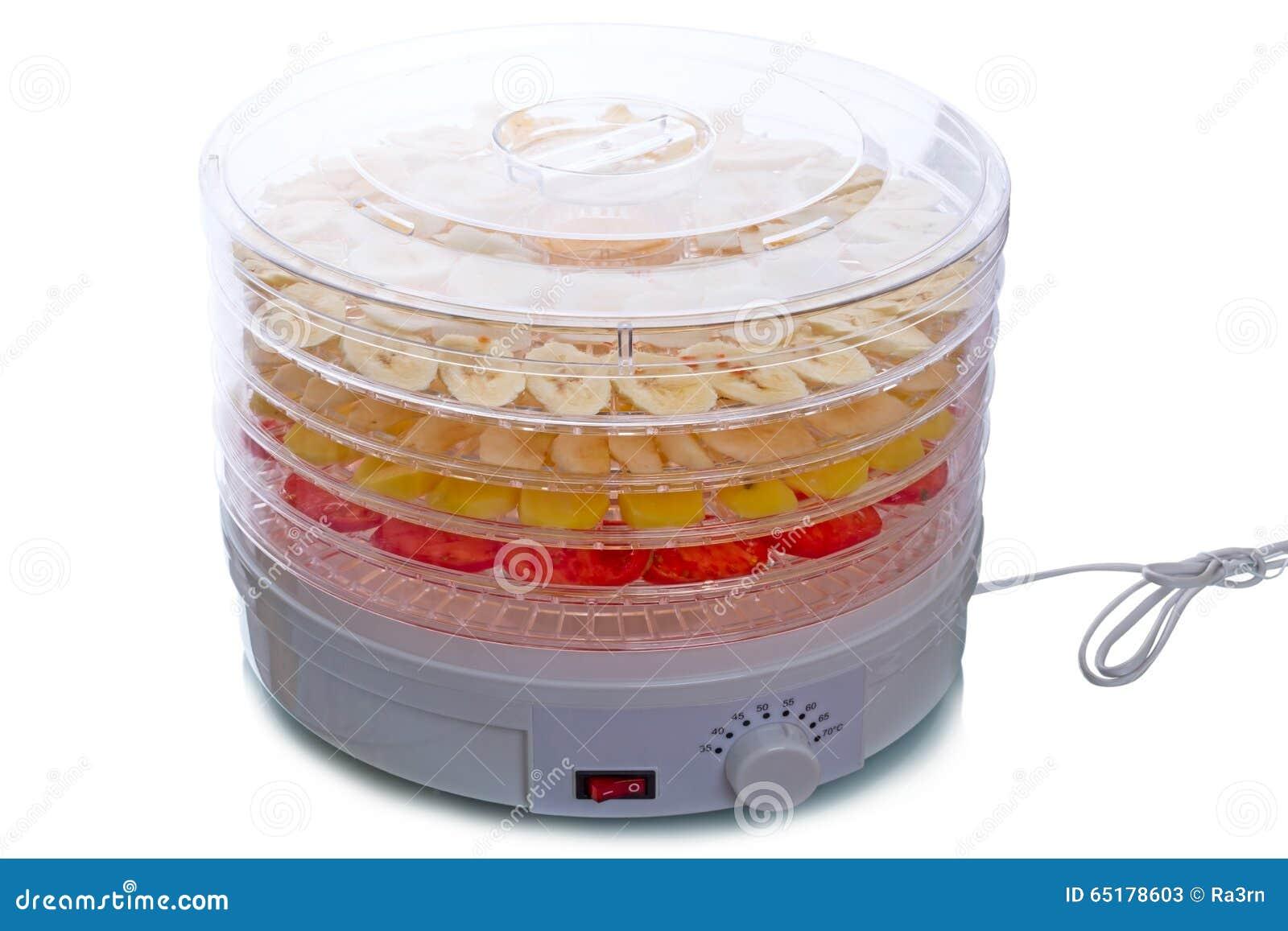 Trockner für obst und gemüse stockbild bild von elektrisch