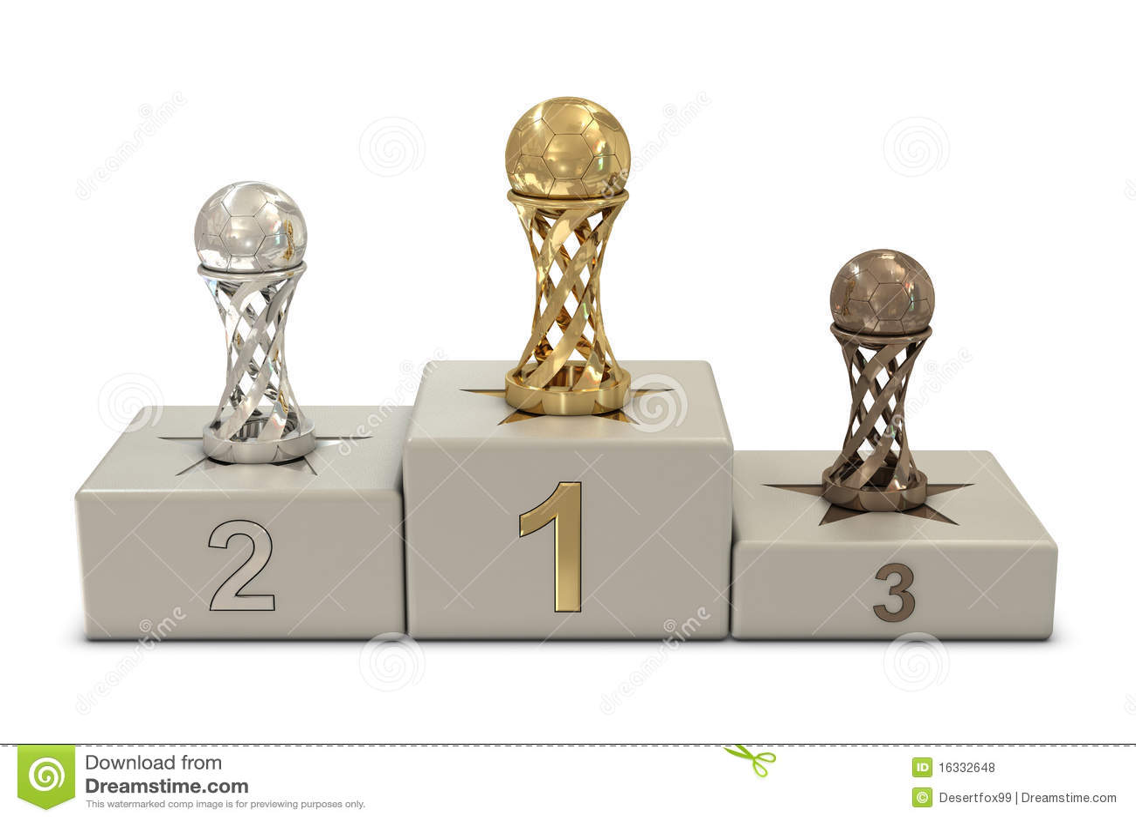... Pódio Do Futebol Fotos de Stock Royalty Free - Imagem: 16332648: pt.dreamstime.com/fotos-de-stock-royalty-free-troféus-e-pódio-do...
