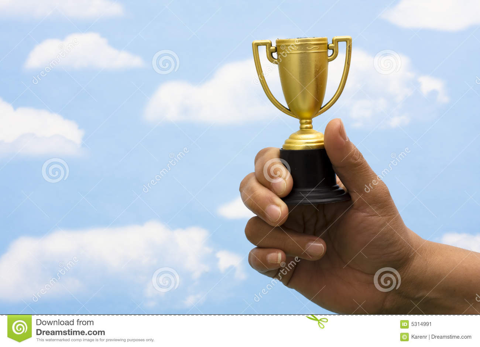 Download Trofeo immagine stock. Immagine di best, capo, successo - 5314991