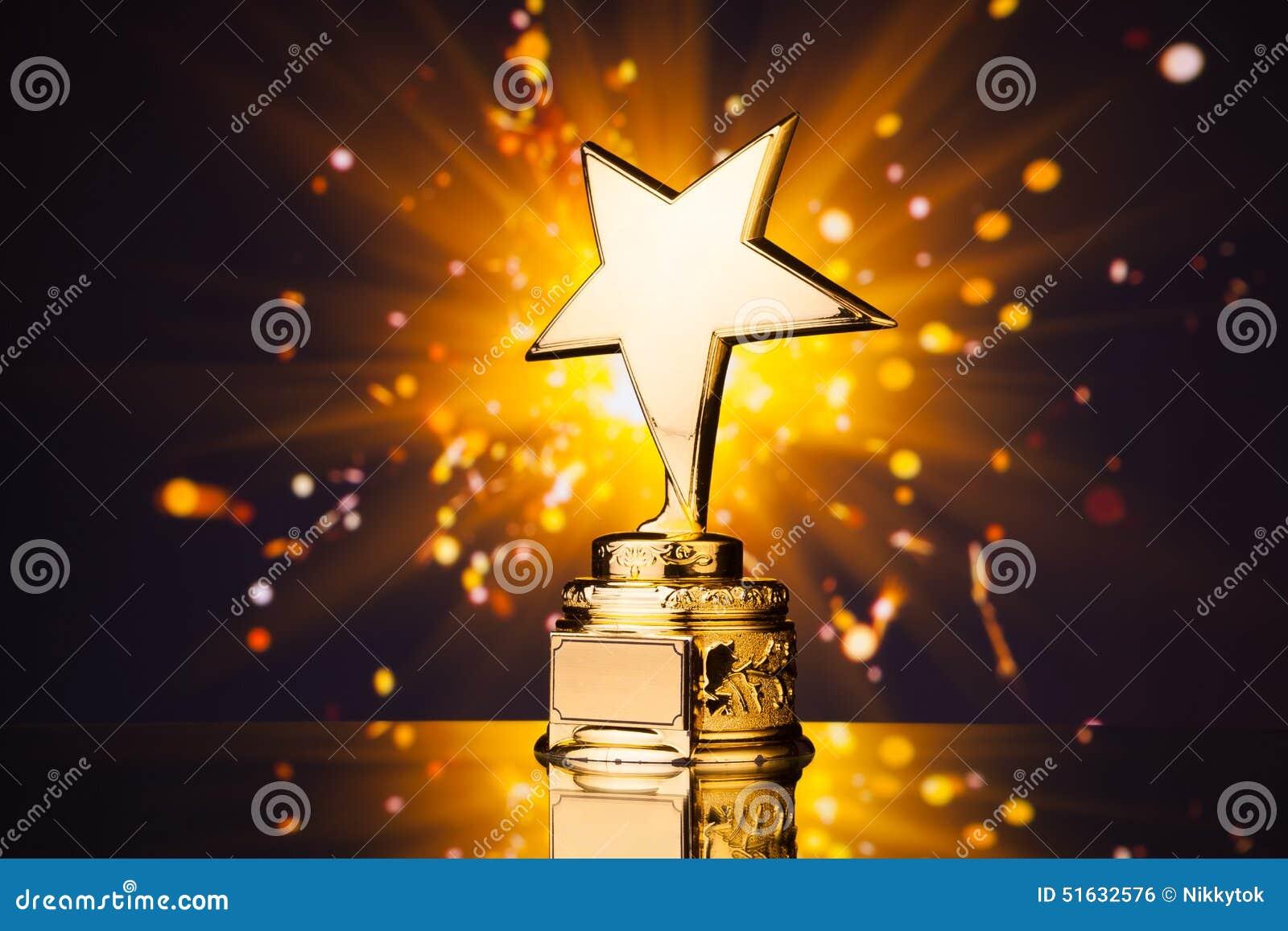 Trofeo de la estrella del oro