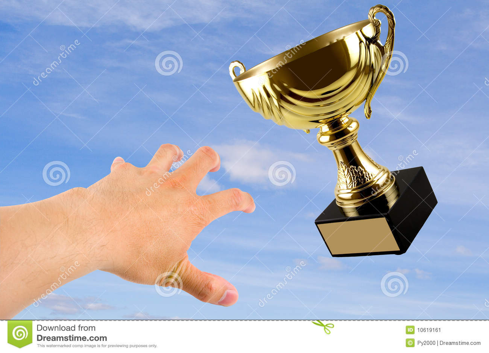 Trofeo que gana