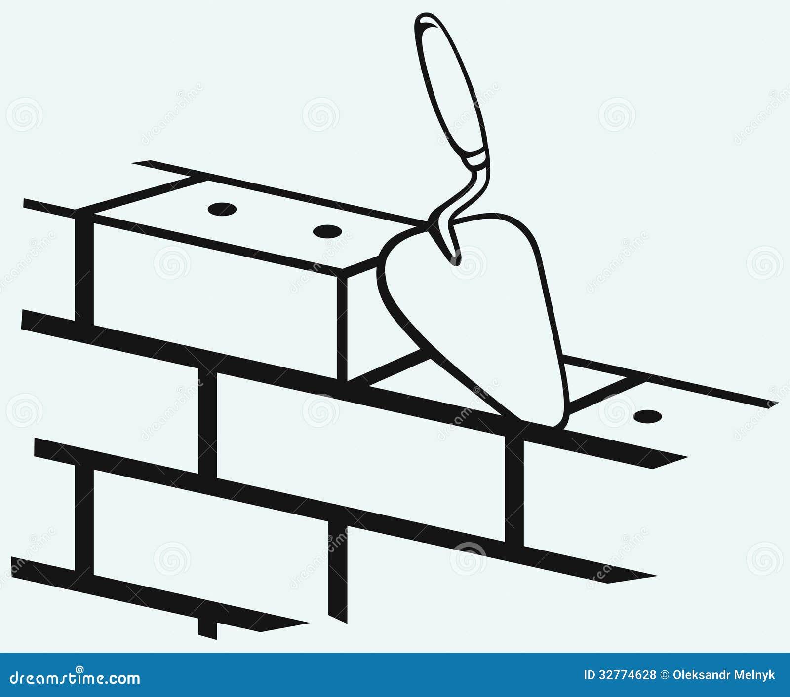 concrete trowel clip art
