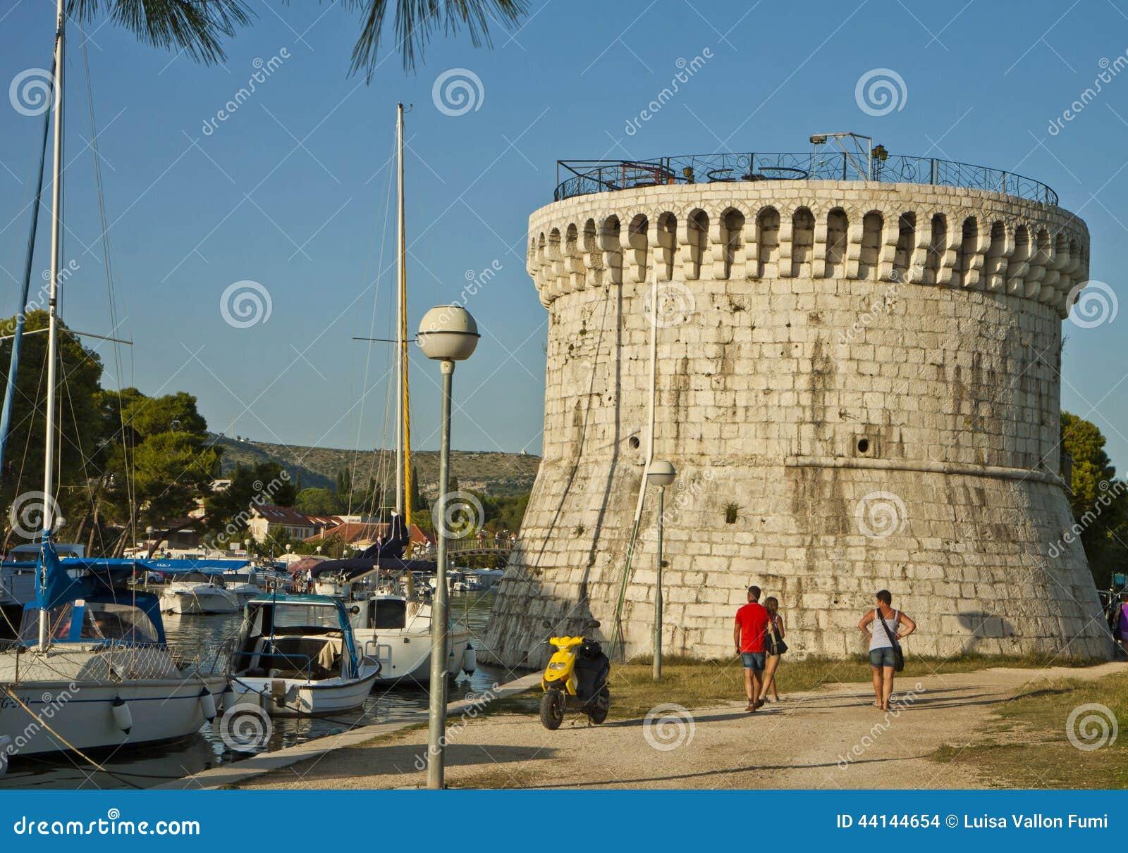 Trogir, Sr. Mark tower